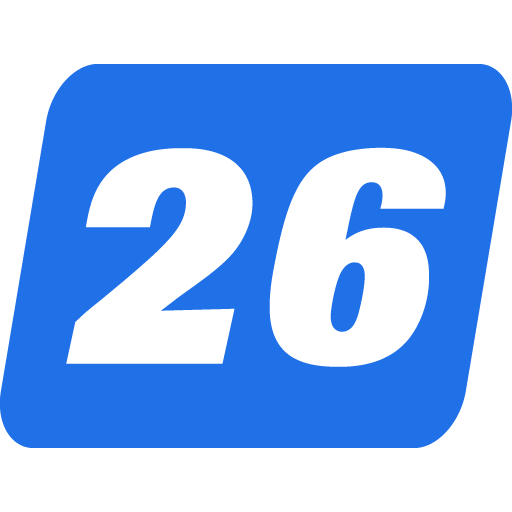 Channel 26 icon